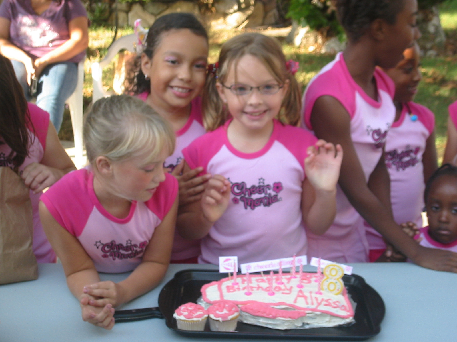 Cheer Mania Party Cake